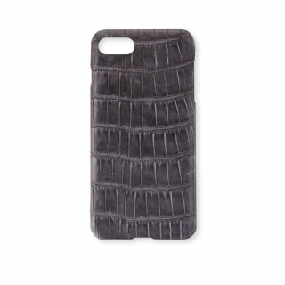 Coque Alligator Véritable iPhone 7/8 Gris