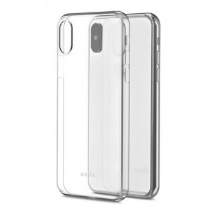 Coque Apple iPhone XS/X SuperSkin Moshi Transparent