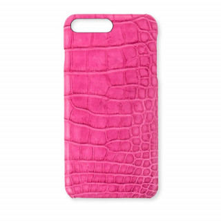 Coque Alligator Véritable iPhone 8 Plus/7 Plus Rose