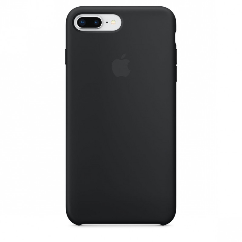 apple coque iphone 7 plus 8 plus silicone apple noir mmqr2fe a accessoires design access go. Black Bedroom Furniture Sets. Home Design Ideas