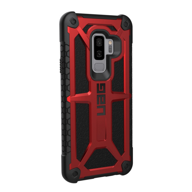 coque cuir rouge samsung s9