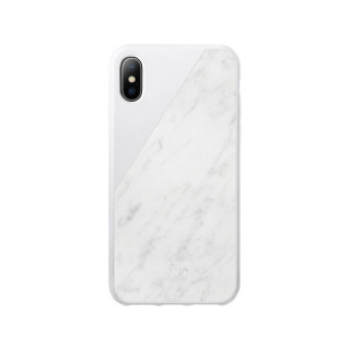 Coque iPhone XS/X Marbre Blanc Native Union Clic Marbre