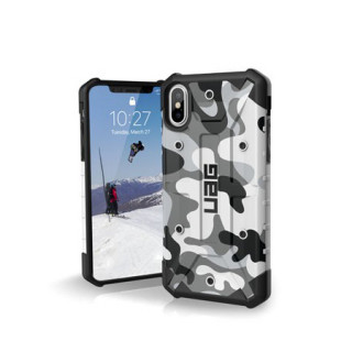 Coque Renforcée Apple iPhone X UAG Pathfinder White Camo