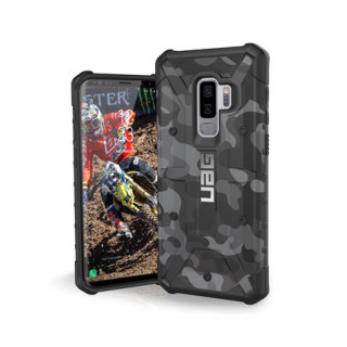 Coque Renforcée Samsung Galaxy S9 Plus UAG Pathfinder Black Camo