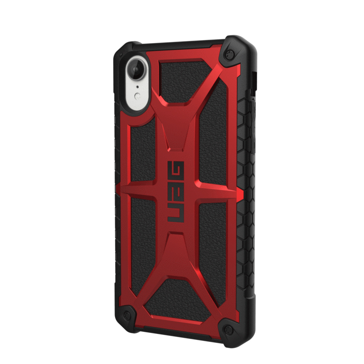 coque apple iphone xr cuir rouge