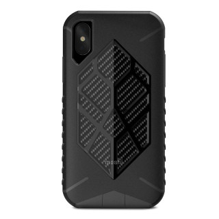 Coque Antichute Apple iPhone XS/X Moshi Talos Noir