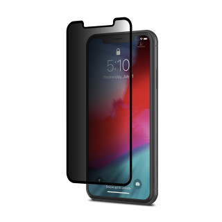 Vitre Protection Ecran iPhone XR IonGlass Privacy Moshi