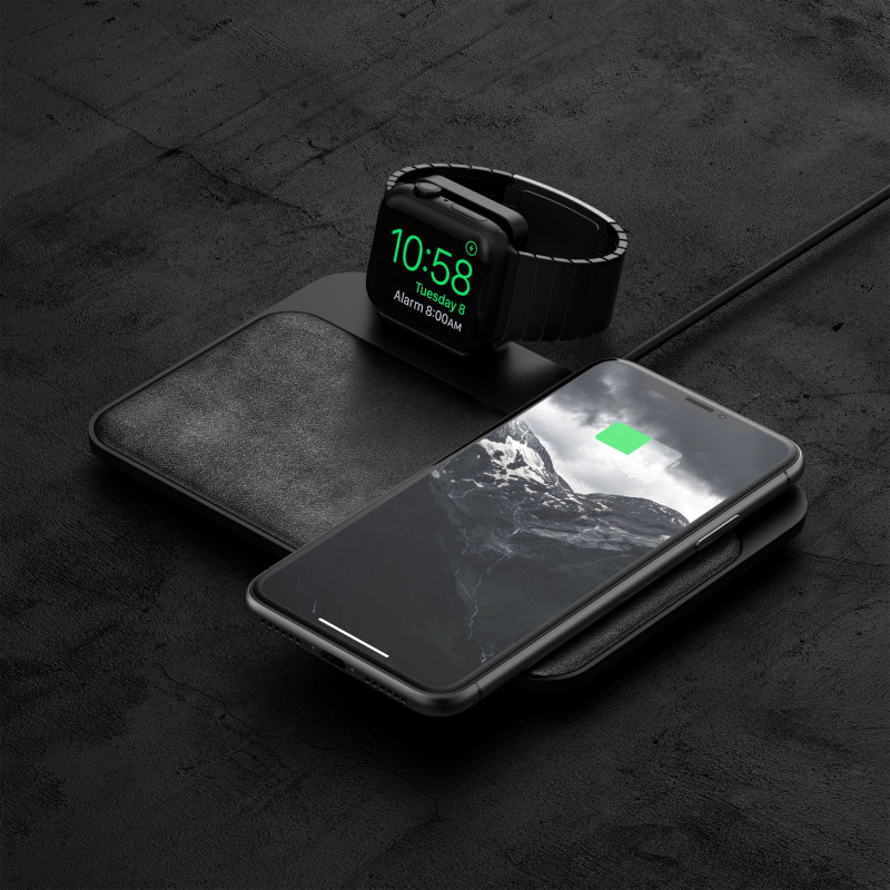 Nomad Chargeur Induction Smartphone Apple Watch Noir Nomad