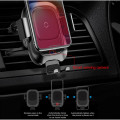 Support & Chargeur Induction Voiture Smartphone Baseus