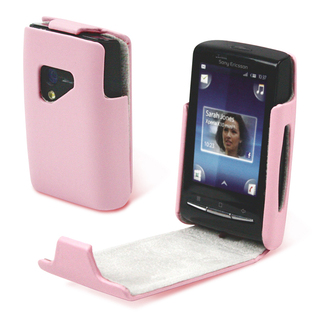 Housse Clamshell Rose pour Sony Ericsson X10 Mini
