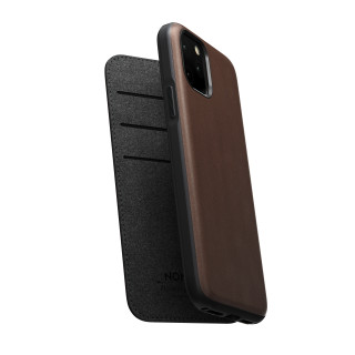 Etui Cuir Apple iPhone 11 Pro Max Nomad Rugged Folio Rustic Brown