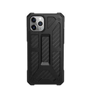 Coque Apple iPhone 11 Pro Max UAG Monarch Noir/Fibre Carbone