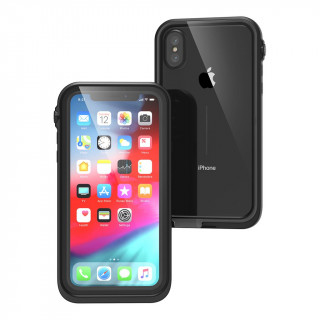 Coque 100% Etanche iPhone XS/X Catalyst Noir