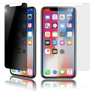 Vitre Protection Ecran iPhone 11/XR Optiguard Glass Privacy QDOS
