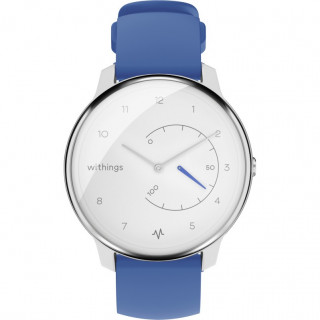 Montre Connectée Withings Move ECG Blanc/Bleu