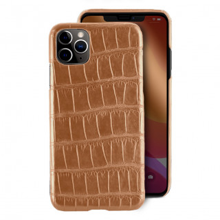 Coque Alligator Véritable iPhone 11 Pro Miel