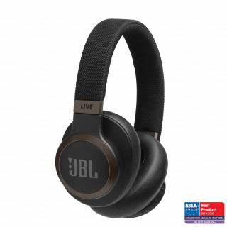 Casque Sans Fil JBL Live 650BTNC A Réduction De Bruit Active Noir
