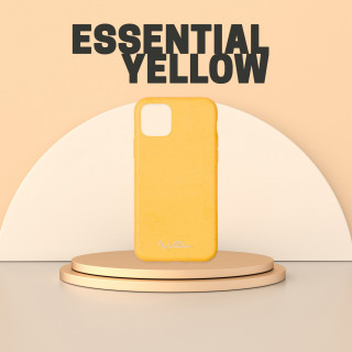 Coque Apple iPhone 11 Wilma Essential Eco Fashion Jaune