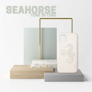 Coque Apple iPhone 11 Wilma Tone In Tone Seahorse