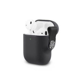 Etui Apple AirPods Moshi Pebbo Noir