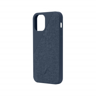 Coque Apple iPhone 12 Mini Clic Canvas Native Union Indigo