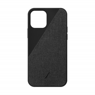Coque Apple iPhone 12/12 Pro Clic Canvas Native Union Ardoise