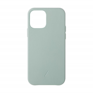 Coque Apple iPhone 12/12 Pro Clic Classic Native Union Cuir Vert Sauge