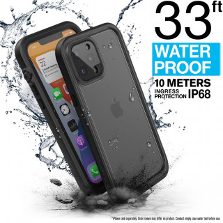 Coque 100% Etanche iPhone 12 Pro Max Catalyst Noir