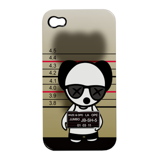 "Coque Apple iPhone 3G / 3GS Wize and Ope ""Cali-Ope"""