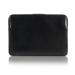 "Etui Sleeve MacBook air 11"" Knomo Cuir Noir"