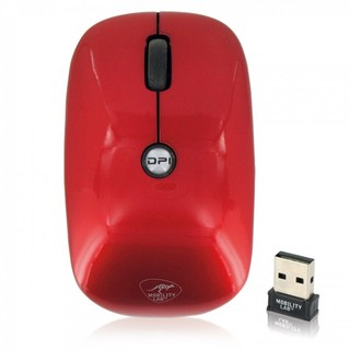 "Souris Sans Fil ""Pure Color"" Mobility Lab ML301099 Rouge"