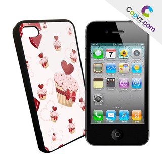 "Coque iPhone 4 / 4S Coovz ""Cupcake1"""