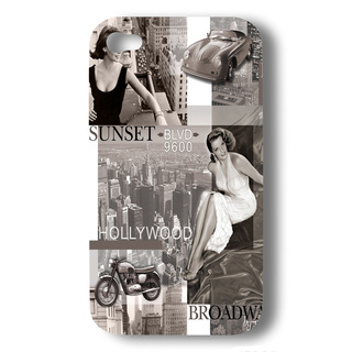 "Coque Akashi Apple iPhone 5/5S/SE ""HollyWood"""