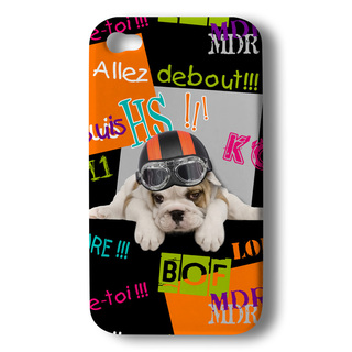 "Coque Akashi Apple iPhone 5/5S/SE ""Debout Puppy"""