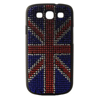 Coque Samsung Galaxy S3 Union Jack Strass