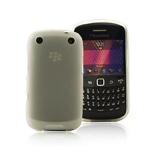 Coque Gel Blackberry 9320 Blanche Transparente