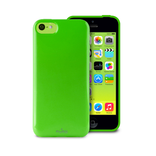"Coque Apple iPhone 5C ""Anti-Shock"" Verte Puro"