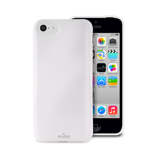 "Coque Apple iPhone 5C ""Anti-Shock"" Blanche Puro"