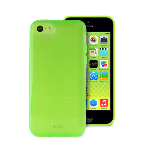 puro coque apple iphone 5c plasma verte puro ipccplasmagrn accessoires t l phonie. Black Bedroom Furniture Sets. Home Design Ideas