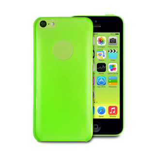 "Coque Apple iPhone 5C ""Crystal"" Verte Puro"
