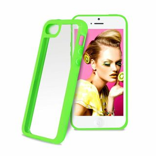 "Coque Bumper Apple iPhone 5C Verte ""Clear Cover"" Puro"