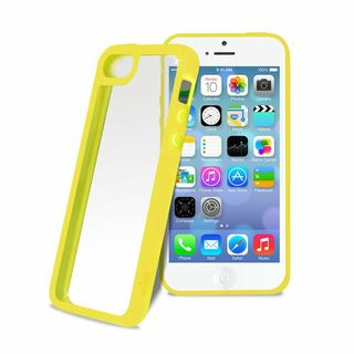 "Coque Bumper Apple iPhone 5C Jaune ""Clear Cover"" Puro"