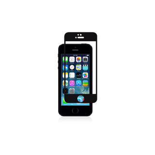 Protection Ecran iPhone 5/5S/SE/5C iVisor Glass Noir Moshi